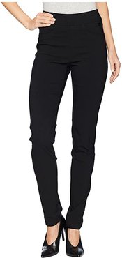 Technoslim Pull-On Slim Leg in Black (Black) Women's Casual Pants