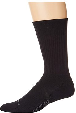 PF Ultra Light Crew (Black) Crew Cut Socks Shoes