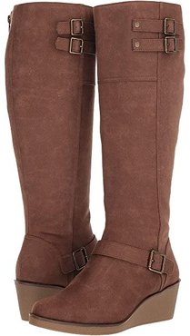 Robbins Egg (Brown Fabric) Women's Boots