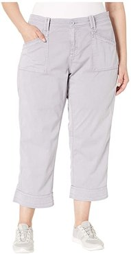 Plus Size Arden V2 Slimmer (Lilac Grey) Women's Casual Pants
