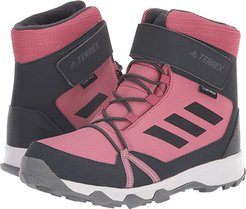 Terrex Snow CF CP CW (Little Kid/Big Kid) (Trace Maroon/Carbon/Real Magenta) Girl's Shoes
