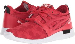Tiger Gel-Lyte Hikari Mickey Mouse (Toddler/Little Kid) (Classic Red) Kids Shoes