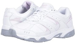 Avi-Verge (Bright White/Avia Pink/Silver/Steel Grey) Women's Shoes