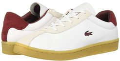 Masters 319 2 (White/Dark Red) Women's Shoes