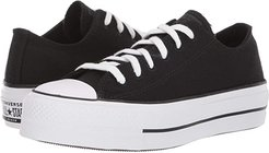 Chuck Taylor All Star Lift - Renew (Black/White/Black) Women's Shoes