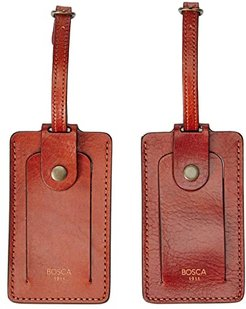 Dolce Set of 2 Luggage Tags (Amber) Handbags