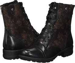 Cobb Hill Bethany (Black Multi) Women's Lace-up Boots
