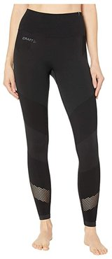 Charge Fuseknit Tights (Black) Women's Clothing