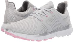 Climacool Cage (Grey One/Silver Metallic/True Pink) Women's Golf Shoes