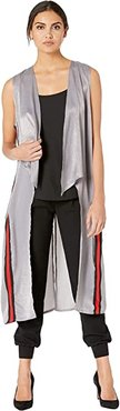 Cast Away Duster Vest (Grey) Women's Vest