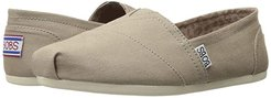 Bobs Plush - Peace and Love (Taupe) Women's Shoes