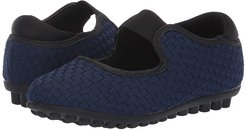 Kendra (Little Kid/Big Kid) (Navy) Girl's Shoes