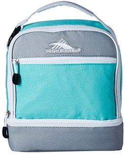 Stacked Compartment Bag (Aquamarine/Ash/White) Bags