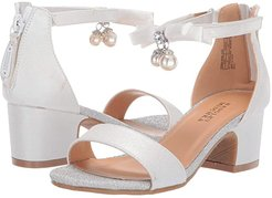 Pernia Pearl Bow (Little Kid/Big Kid) (White Shimmer) High Heels