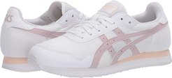 Tiger Runner (White/Watershed Rose) Women's Shoes