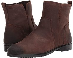 Touch 15 B Ankle Boot (Coffee Cow Suede) Women's Shoes