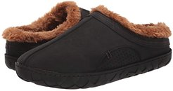 Que Lined Slipper (Black/Brown) Shoes