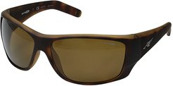 Heist 2.0 (Fuzzy Havana/Brown Polarized) Sport Sunglasses