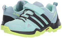 Terrex AX2R CF (Little Kid/Big Kid) (Clear Mint/Carbon/Hi-Res Yellow) Girls Shoes