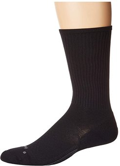 PF Cushion Crew (Black) Crew Cut Socks Shoes