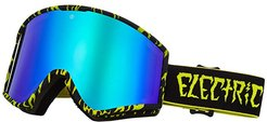 Kleveland (Sketch Brose/Green Chrome) Athletic Performance Sport Sunglasses