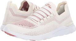 Techloom Breeze (Pristine/Redwood/White) Women's Running Shoes