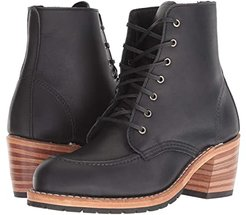 Clara (Black Boundary) Women's Lace-up Boots
