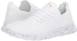 Techloom Breeze (White/Impulse Red/Blue Haze) Women's Running Shoes