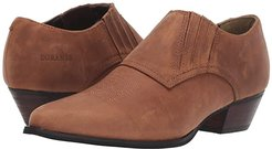 Western Shoe Boot (Brown) Cowboy Boots