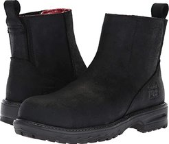 Hightower Chelsea Comp Safety Toe SD+ (Black Distressed) Women's Work Boots