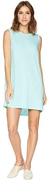 Short Tank Top Dress (Aquamarine) Women's Dress
