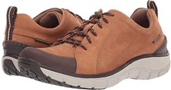 Wave Go (Tan Nubuck/Leather Combi) Women's Lace up casual Shoes