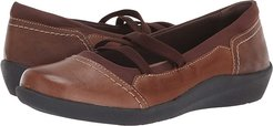 Leslie (Almond Leather) Women's Flat Shoes