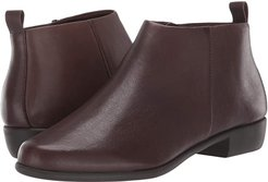 Step It Up (Brown Leather) Women's Boots