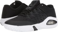 Attack Low (Black/Black/White) Men's Basketball Shoes