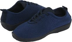 LS (Navy) Women's Lace up casual Shoes