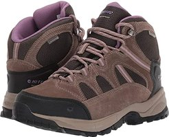 Red Rock Mid Waterproof (Smokey Brown/Taupe/Very Grape) Women's Boots
