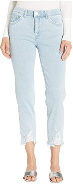 Luxe Touch High-Rise AbSolution Slim Straight (Light Blue KP3) Women's Jeans