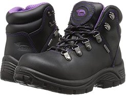 A7124 Steel Toe (Black) Women's Work Boots