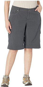 Plus Size Splash 11 Shorts (Carbon) Women's Shorts