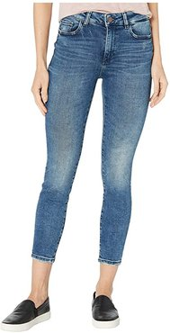 Florence Mid-Rise Skinny Crop in Truman (Truman) Women's Jeans