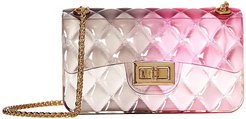 3-H0039 (Fuchsia Combo Quilted Jelly) Handbags