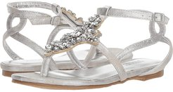 Cara Barstow (Little Kid/Big Kid) (Light Silver) Girls Shoes