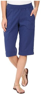 Key Largo Pedal Pusher (Moonlight Blue) Women's Shorts