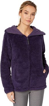 Lynx Full Zip Fleece (Purple Velvet) Women's Fleece