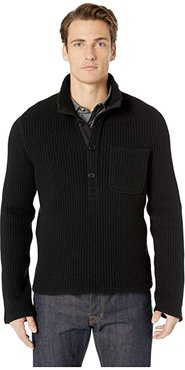 Allister Popover (Black) Men's Clothing