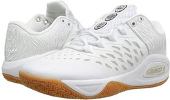 Attack Low (White/White/Gum) Men's Basketball Shoes