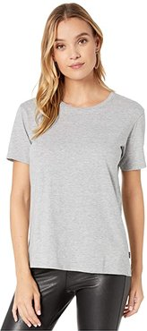 Classic Short Sleeve Tee (Gray Heather) Women's Clothing