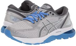 GEL-Nimbus(r) 21 (Mid Grey/Dark Grey) Women's Running Shoes