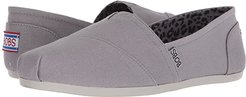 Bobs Plush - Peace and Love (Gray) Women's Shoes